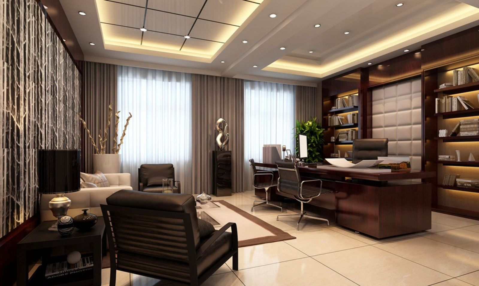 for Luxurious office interiors