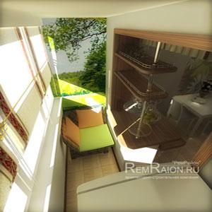 Дизайн-проект двухкомнатной квартиры ип-46с в cолнечногорске.