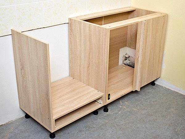 Кухонные шкафы напольные своими руками 581