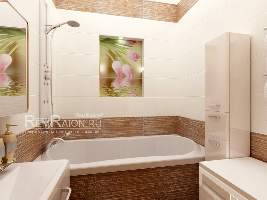 Дизайн ванных комнат 2х где разместить ванную комнату